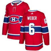 Wholesale Cheap Adidas Canadiens #6 Shea Weber Red Home Authentic Stitched Youth NHL Jersey