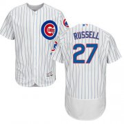 Wholesale Cubs #27 Addison Russell White Flexbase Authentic Collection Stitched Baseball Jersey
