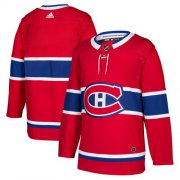 Wholesale Cheap Adidas Canadiens Blank Red Home Authentic Stitched NHL Jersey