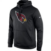 Wholesale Cheap Men's Arizona Cardinals Nike Black Practice Performance Pullover Hoodie