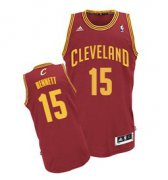 Wholesale Cheap Cleveland Cavaliers #15 Anthony Bennett Red Swingman Jersey