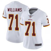 Wholesale Cheap Nike Redskins #71 Trent Williams White Women's Stitched NFL Vapor Untouchable Limited Jersey