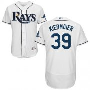 Wholesale Cheap Rays #39 Kevin Kiermaier White Flexbase Authentic Collection Stitched MLB Jersey