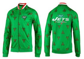 Wholesale Cheap NFL New York Jets Victory Jacket Green_1