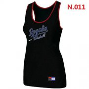 Wholesale Cheap Women's Nike Kansas City Royals Tri-Blend Racerback Stretch Tank Top Black