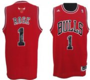 Wholesale Cheap Chicago Bulls #1 Derrick Rose Revolution 30 Swingman Red Jersey