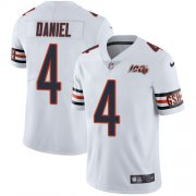Wholesale Cheap Nike Bears #4 Chase Daniel White Men's 100th Season Stitched NFL Vapor Untouchable Limited Jersey