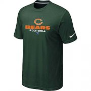Wholesale Cheap Nike Chicago Bears Big & Tall Critical Victory NFL T-Shirt Dark Green