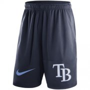 Wholesale Cheap Men's Tampa Bay Rays Nike Navy Dry Fly Shorts