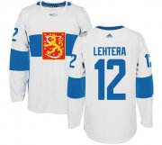 Wholesale Cheap Team Finland #12 Jori Lehtera White 2016 World Cup Stitched NHL Jersey