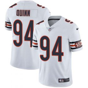 Wholesale Cheap Nike Bears #94 Robert Quinn White Men\'s Stitched NFL Vapor Untouchable Limited Jersey
