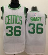 Wholesale Cheap Boston Celtics #36 Marcus Smart White Swingman Jersey