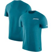 Wholesale Cheap Jacksonville Jaguars Nike On-Field Coaches UV Performance T-Shirt Teal