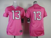 Wholesale Cheap Nike Dolphins #13 Dan Marino Pink Women's Be Luv'd Stitched NFL New Elite Jersey