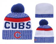 Wholesale Cheap MLB Chicago Cubs Logo Stitched Knit Beanies 009