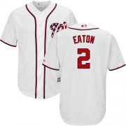 Wholesale Cheap Nationals #2 Adam Eaton White Cool Base Stitched Youth MLB Jersey