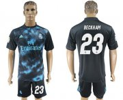 Wholesale Cheap Real Madrid #23 Beckham Away Soccer Club Jersey
