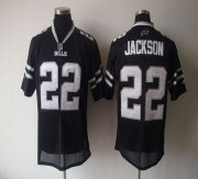 Wholesale Cheap Bills #22 Fred Jackson Black Shadow Stitched NFL Jersey