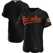 Wholesale Cheap Baltimore Orioles Men's Nike Black Alternate 2020 Authentic Official Team MLB Jersey