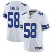 Wholesale Cheap Youth Dallas Cowboys #58 Aldon Smith Limited White Vapor Untouchable Jersey