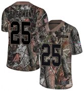Wholesale Cheap Nike Seahawks #25 Richard Sherman Camo Youth Stitched NFL Limited Rush Realtree Jersey