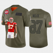 Cheap Kansas City Chiefs #87 Travis Kelce Nike Team Hero 3 Vapor Limited NFL Jersey Camo