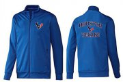 Wholesale Cheap NFL Houston Texans Heart Jacket Blue