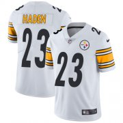 Wholesale Cheap Nike Steelers #23 Joe Haden White Men's Stitched NFL Vapor Untouchable Limited Jersey