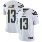 Wholesale Cheap Nike Chargers #13 Keenan Allen White Youth Stitched NFL Vapor Untouchable Limited Jersey