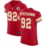 Wholesale Cheap Nike Chiefs #92 Tanoh Kpassagnon Red Team Color Men's Stitched NFL Vapor Untouchable Elite Jersey