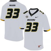 Wholesale Cheap Missouri Tigers 33 Markus Golden III White Nike College Football Jersey