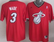 Wholesale Cheap Miami Heat #3 Dwyane Wade Revolution 30 Swingman 2013 Christmas Day Red Jersey