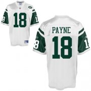 Wholesale Cheap Jets #18 Logan Payne White Stitched NFL Jersey