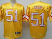 Wholesale Cheap Buccaneers #51 Barrett Ruud Yellow Stitched NFL Jersey