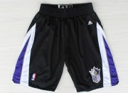 Wholesale Cheap Sacramento Kings Black Short