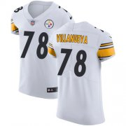 Wholesale Cheap Nike Steelers #78 Alejandro Villanueva White Men's Stitched NFL Vapor Untouchable Elite Jersey
