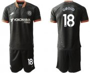 Wholesale Cheap Chelsea #18 Giroud Third Soccer Club Jersey