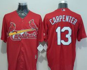 Wholesale Cheap Cardinals #13 Matt Carpenter Red New Cool Base Stitched MLB Jersey