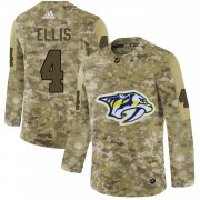 Wholesale Cheap Adidas Predators #4 Ryan Ellis Camo Authentic Stitched NHL Jersey