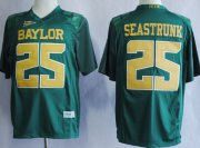 Wholesale Cheap Baylor Bears #25 Lache Seastrunk 2013 Green Jersey