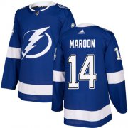 Cheap Adidas Lightning #14 Pat Maroon Blue Home Authentic Youth Stitched NHL Jersey