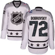 Wholesale Cheap Blue Jackets #72 Sergei Bobrovsky White 2017 All-Star Metropolitan Division Women's Stitched NHL Jersey