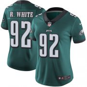 Wholesale Cheap Nike Eagles #92 Reggie White Midnight Green Team Color Women's Stitched NFL Vapor Untouchable Limited Jersey