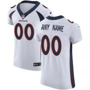 Wholesale Cheap Nike Denver Broncos Customized White Stitched Vapor Untouchable Elite Men's NFL Jersey