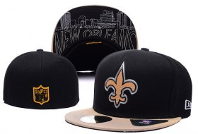 Wholesale Cheap New Orleans Saints fitted hats 05