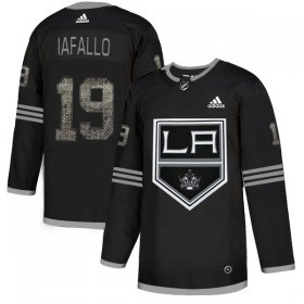 Wholesale Cheap Adidas Kings #19 Alex Iafallo Black Authentic Classic Stitched NHL Jersey