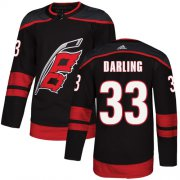 Wholesale Cheap Adidas Hurricanes #33 Scott Darling Black Alternate Authentic Stitched Youth NHL Jersey