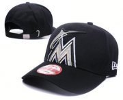 Wholesale Cheap Miami Marlins Snapback Ajustable Cap Hat GS 3