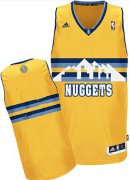 Wholesale Cheap Denver Nuggets Blank Yellow Swingman Jersey
