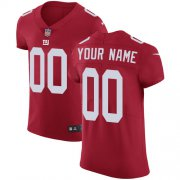 Wholesale Cheap Nike New York Giants Customized Red Alternate Stitched Vapor Untouchable Elite Men's NFL Jersey